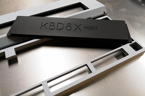 Custom Clavier KBD8X MK2 Cerakote